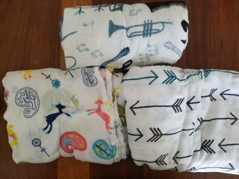 Bamboo Baby Blanket's Review: Tula, Nicki's Diapers, and Best Bottom