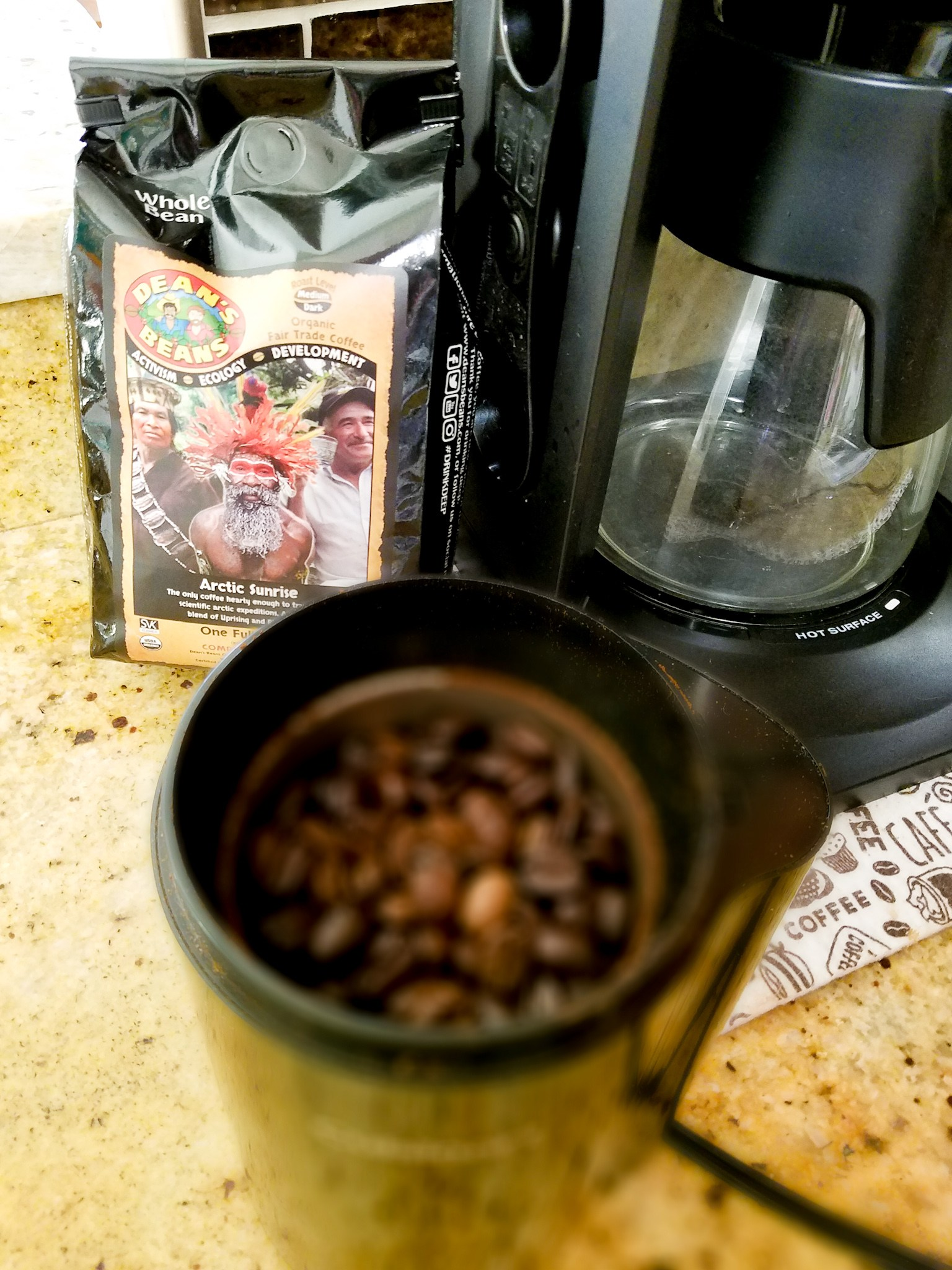 Sponsored: Dean's Beans Coffee Review –  A Great Cup of Coffee With A Purpose