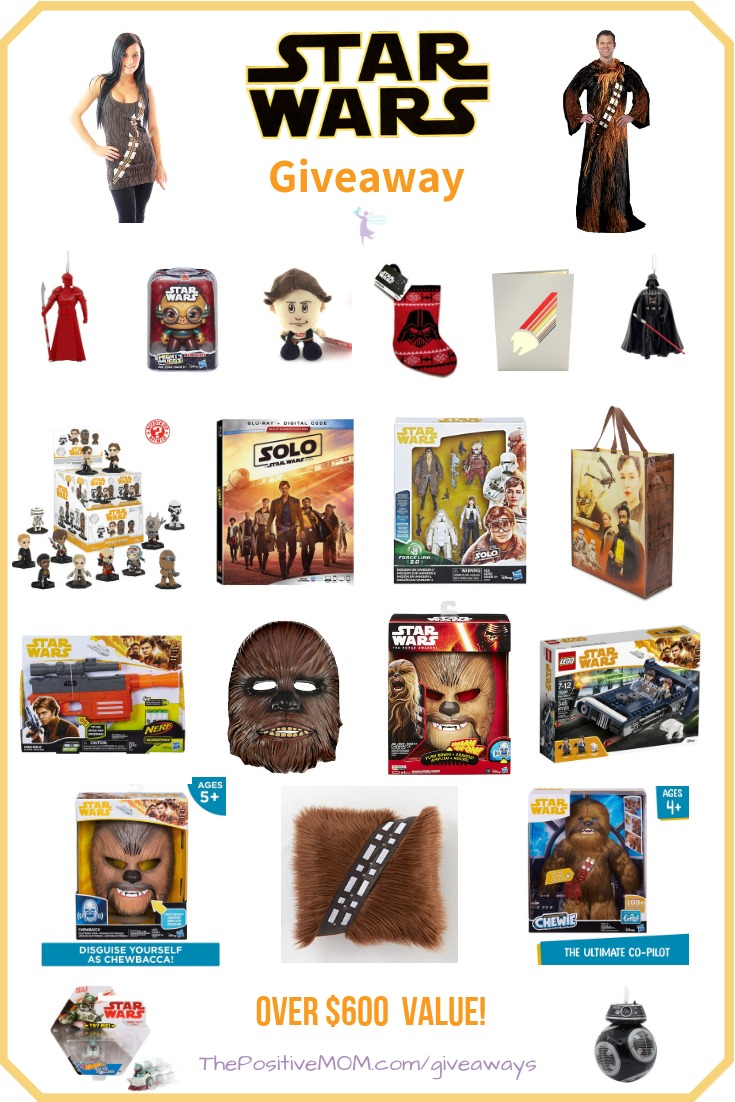 Star Wars Holiday Gift Pack Giveaway