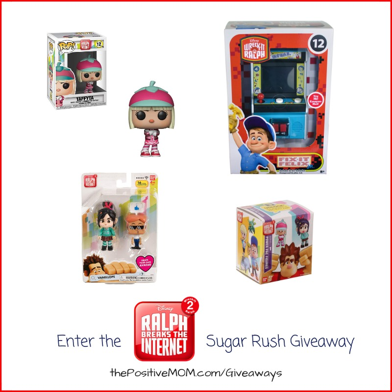 Ralph Breaks The Internet Sugar Rush Giveaway