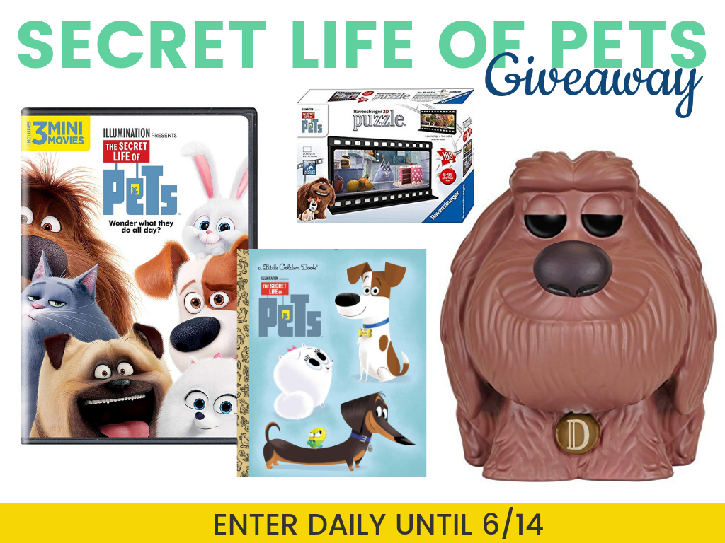 The Secret Life of Pets 2 Giveaway