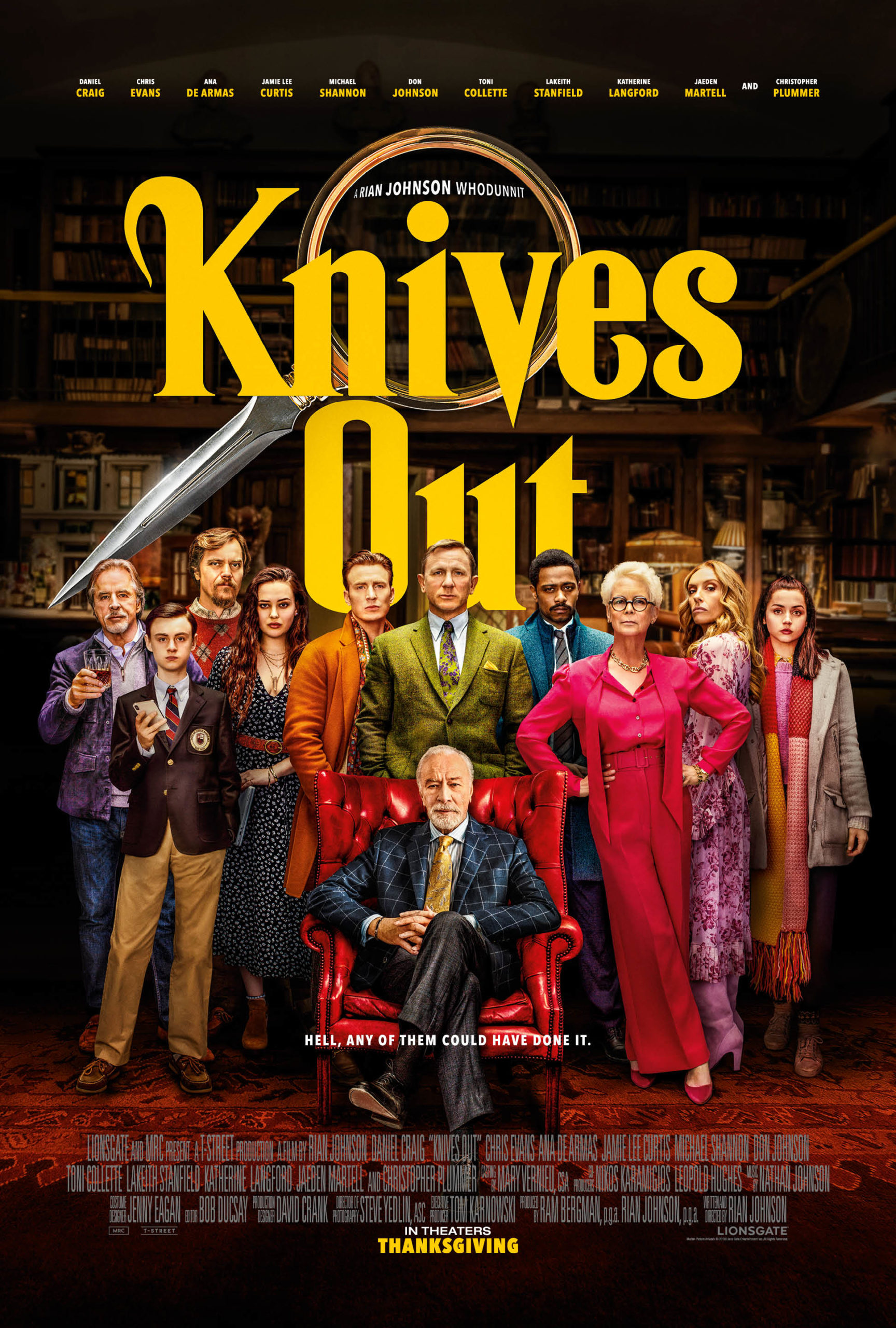 Knives Out Review: The Whodunnit Movie of the Year
