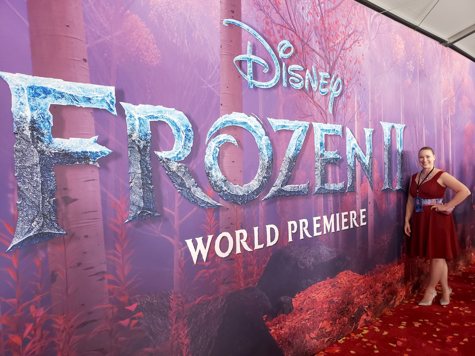 A Small Town Girl's Frozen 2 Red Carpet World Premiere Experience