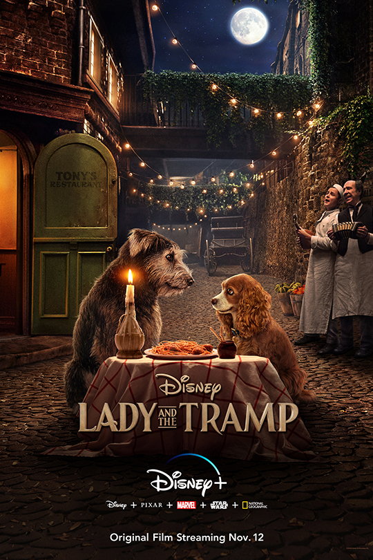 Lady and The Tramp Disney+ Movie Review