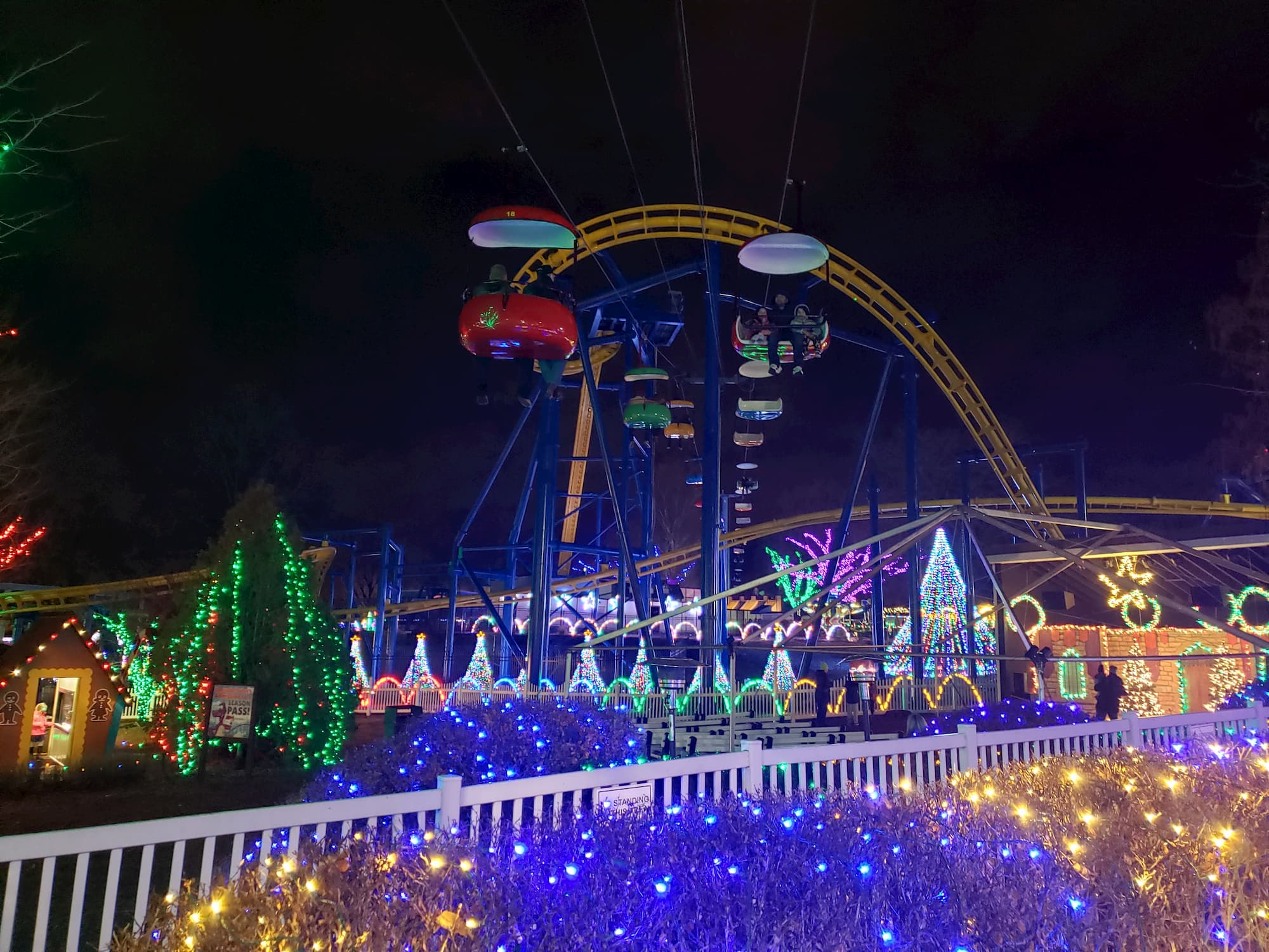 Dutch Wonderland's Winter Wonderland