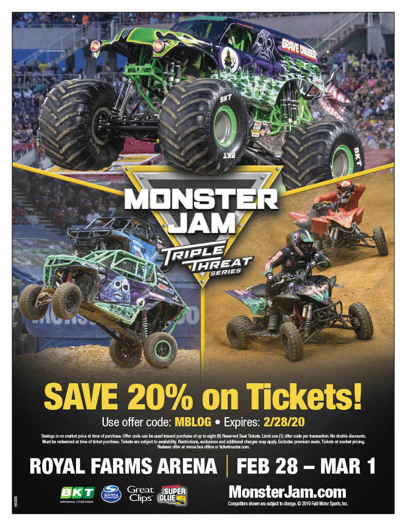 Monster Jam 2020 Ticket Giveaway!