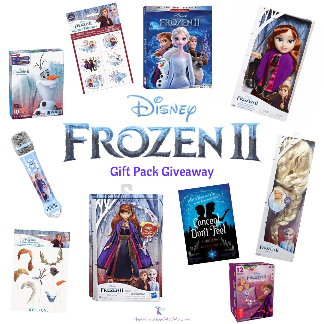 Disney's Frozen 2 Gift Pack Giveaway!