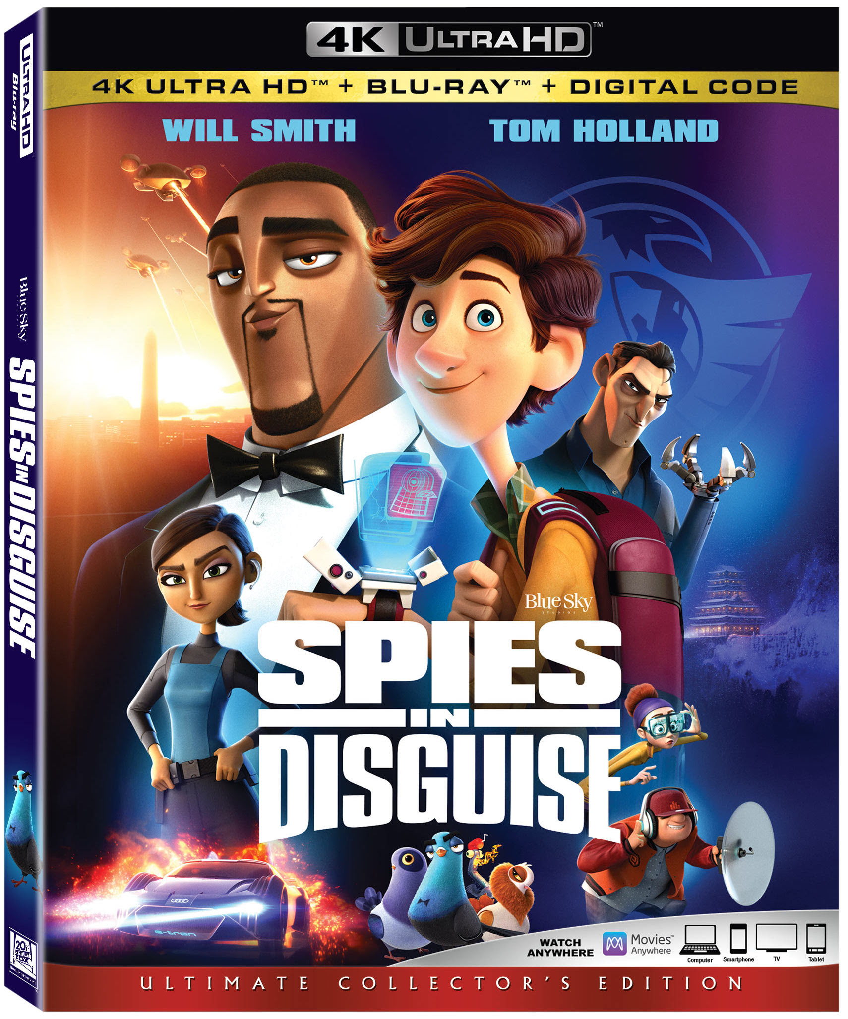 Spies in Disguise on Digital and Blu-ray 3/10