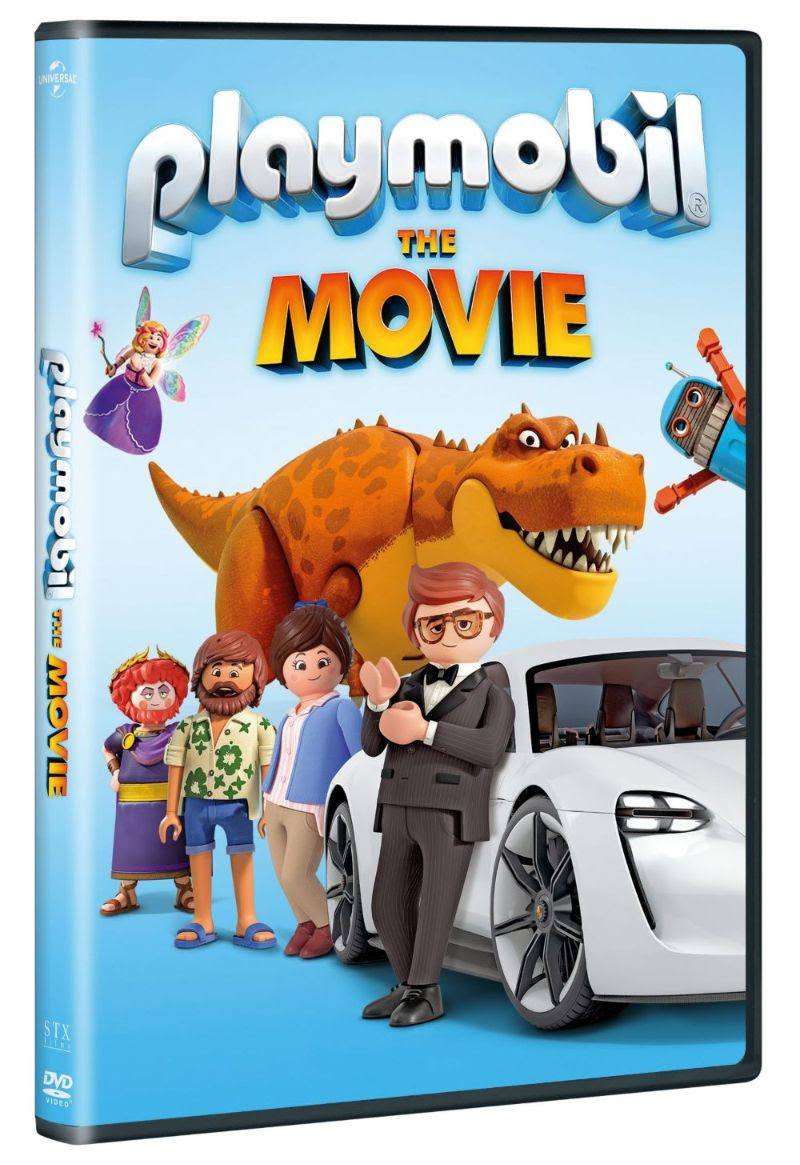 PLAYMOBIL THE MOVIE Available on Digital and DVD NOW