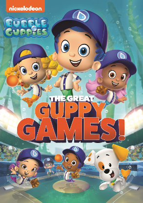 Bubble Guppies: The Great Guppy Games DVD
