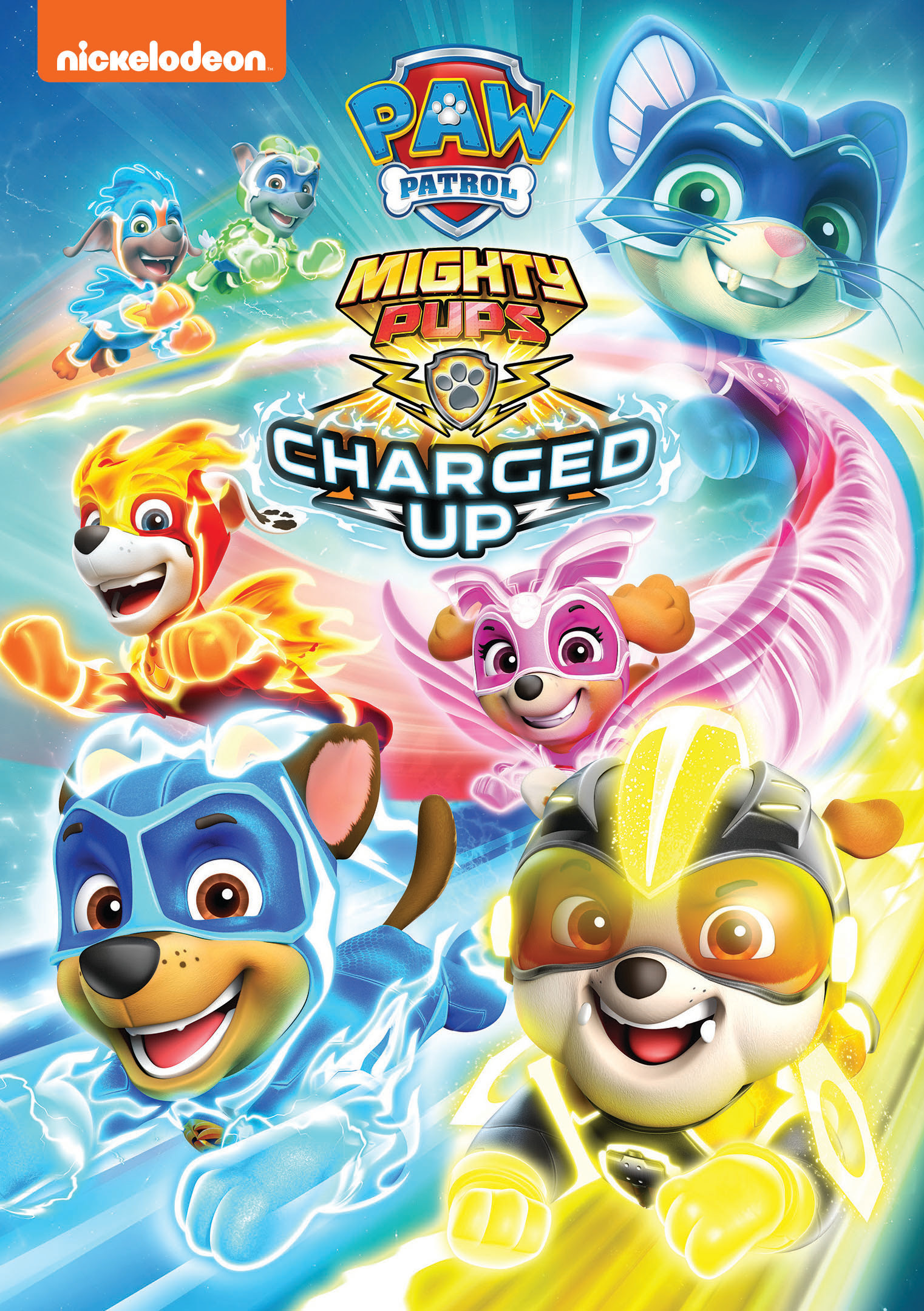 PAW Patrol: Mighty Pups Charged Up DVD Release