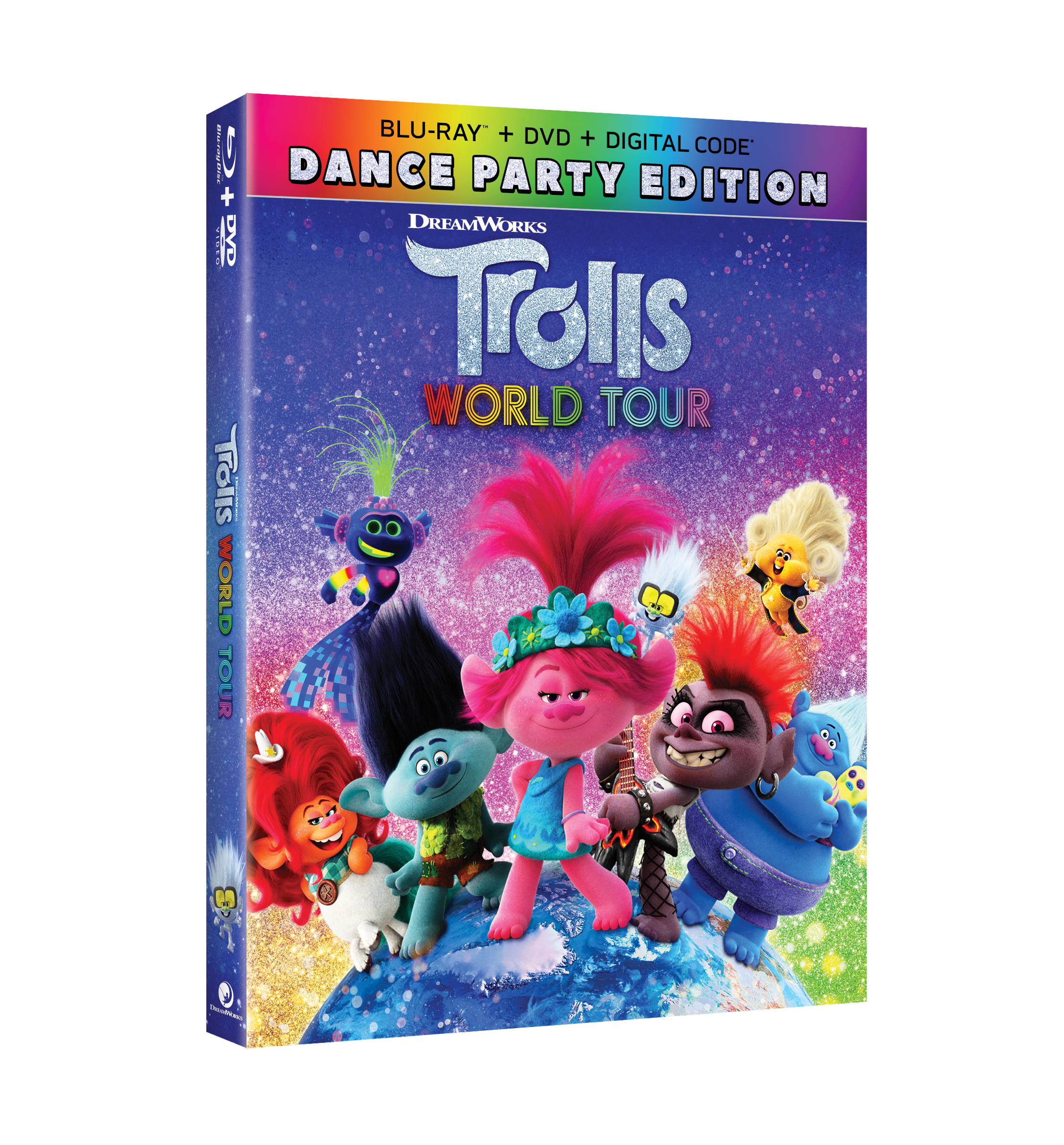 Trolls World Tour Digital, 4K, Blu-Ray, & DVD Release Info!