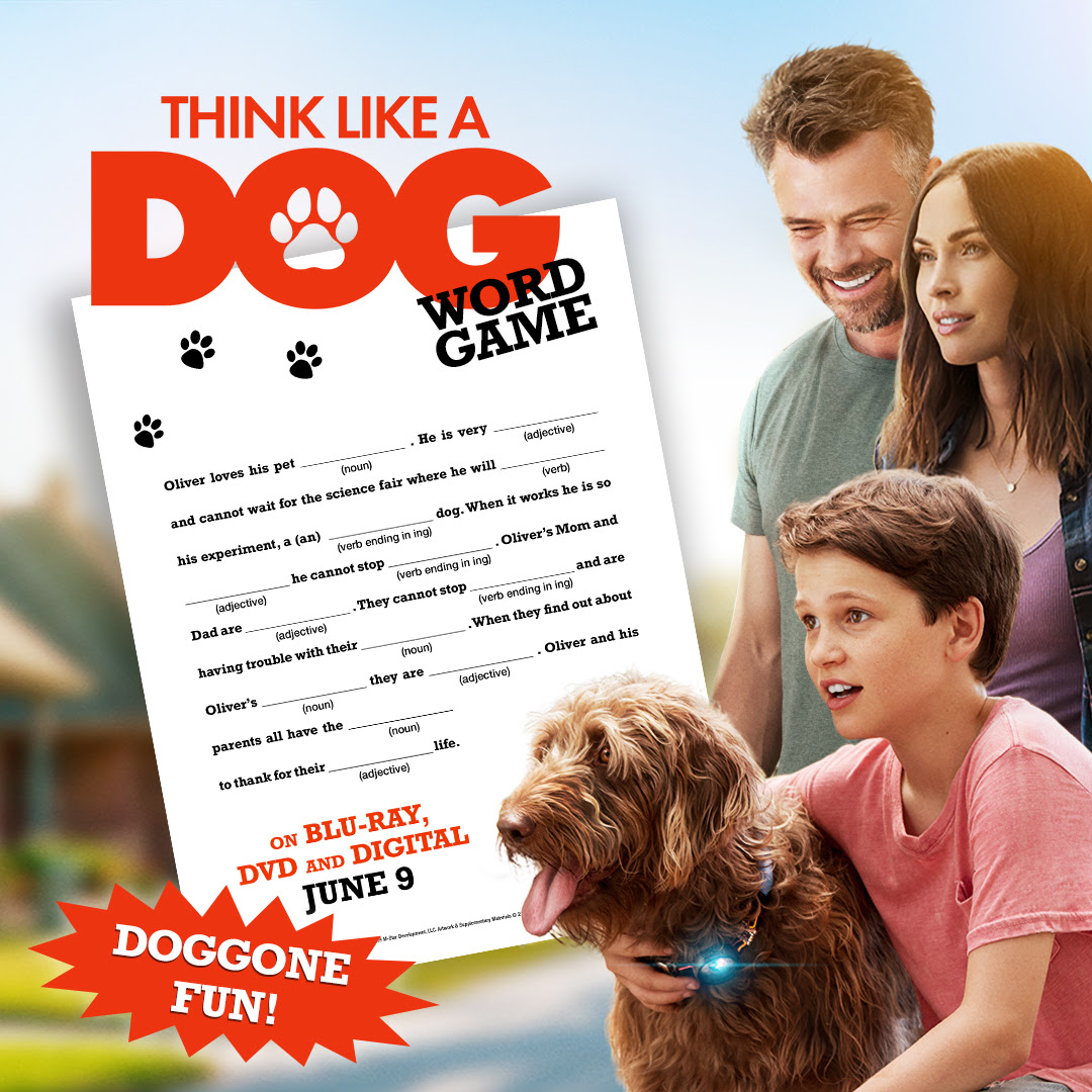 Think Like A Dog Word Game