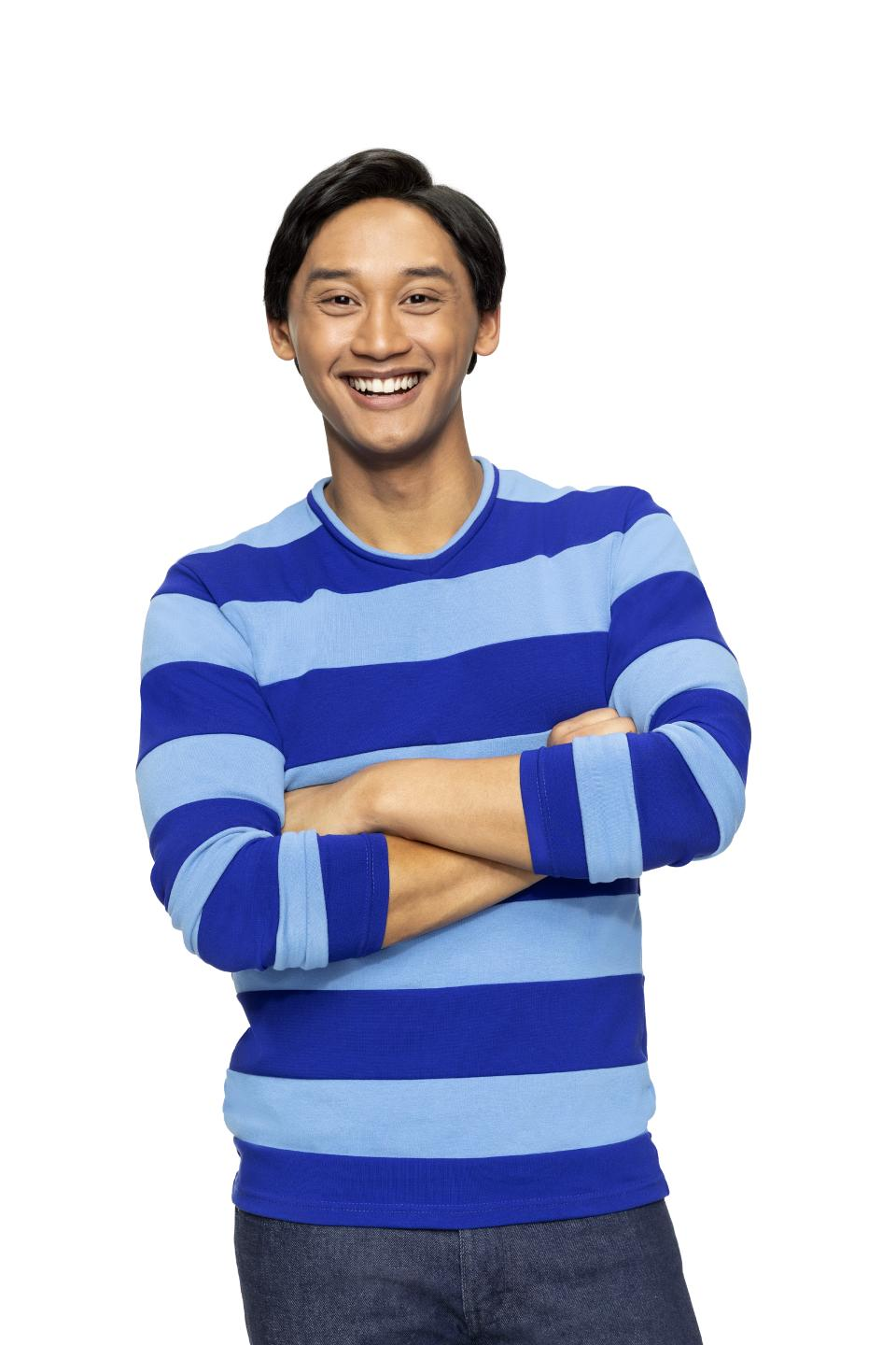 Interview with Josh Dela Cruz Host of Blue's Clues & You!
