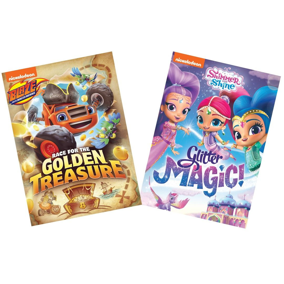 Blaze & Shimmer and Shine DVD bundle