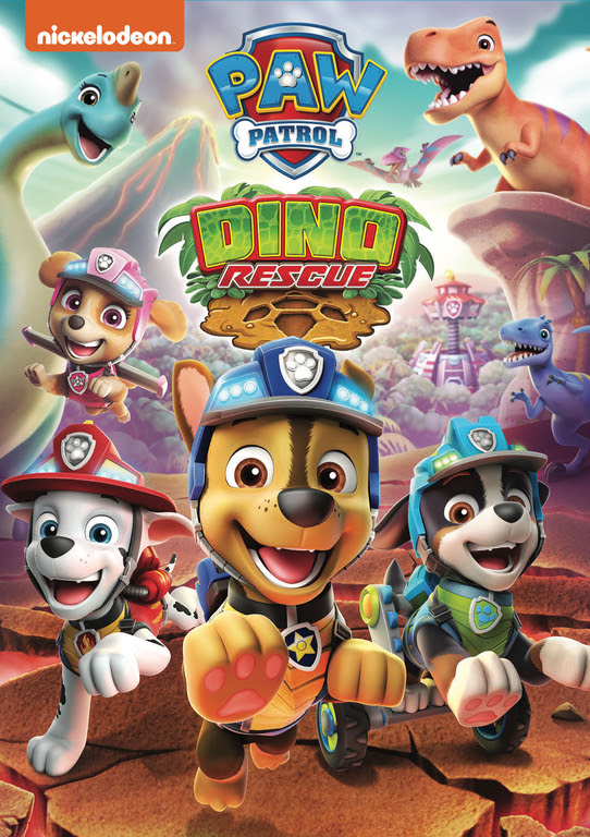 Paw Patrol: Dino Rescue New DVD