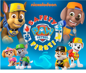 Paw Patrol Safety First Water Campaign