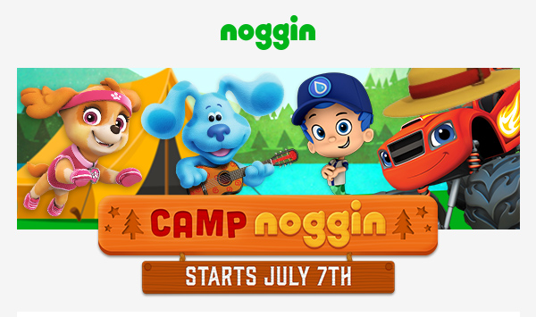 Camp Noggin from Nickelodeon