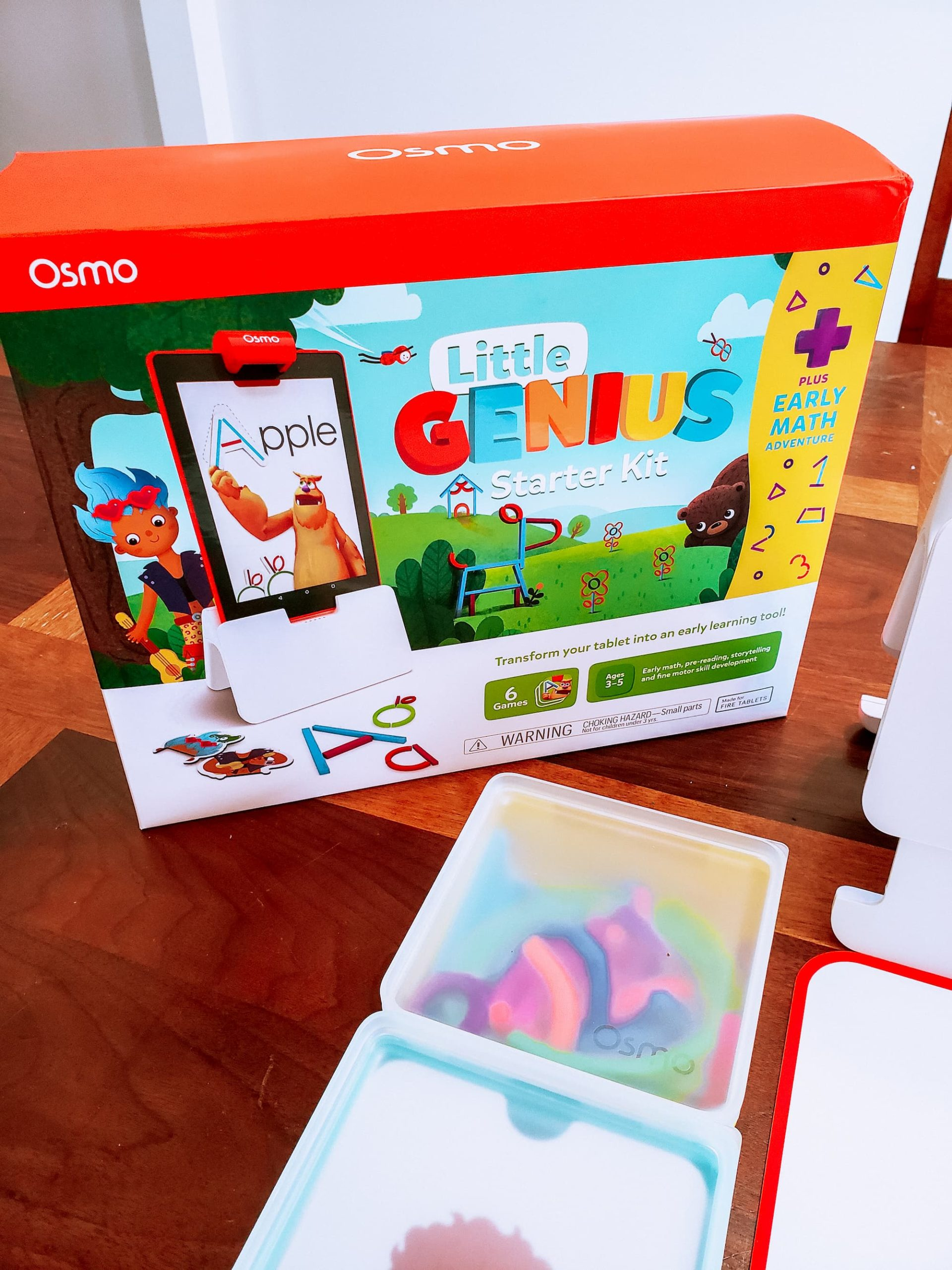 Little Genius Starter Kit Plus Early Math: New to Play Osmo!