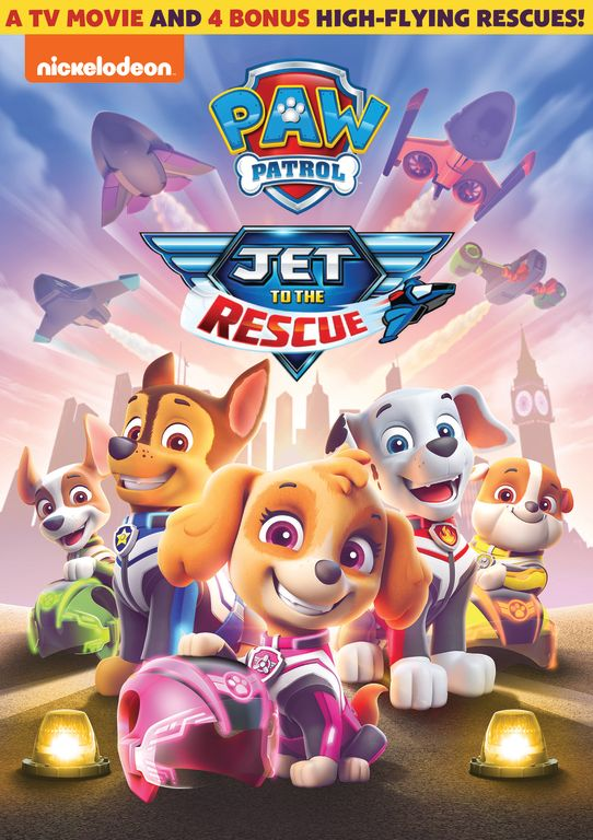 PAW Patrol: Jet to the Rescue New DVD