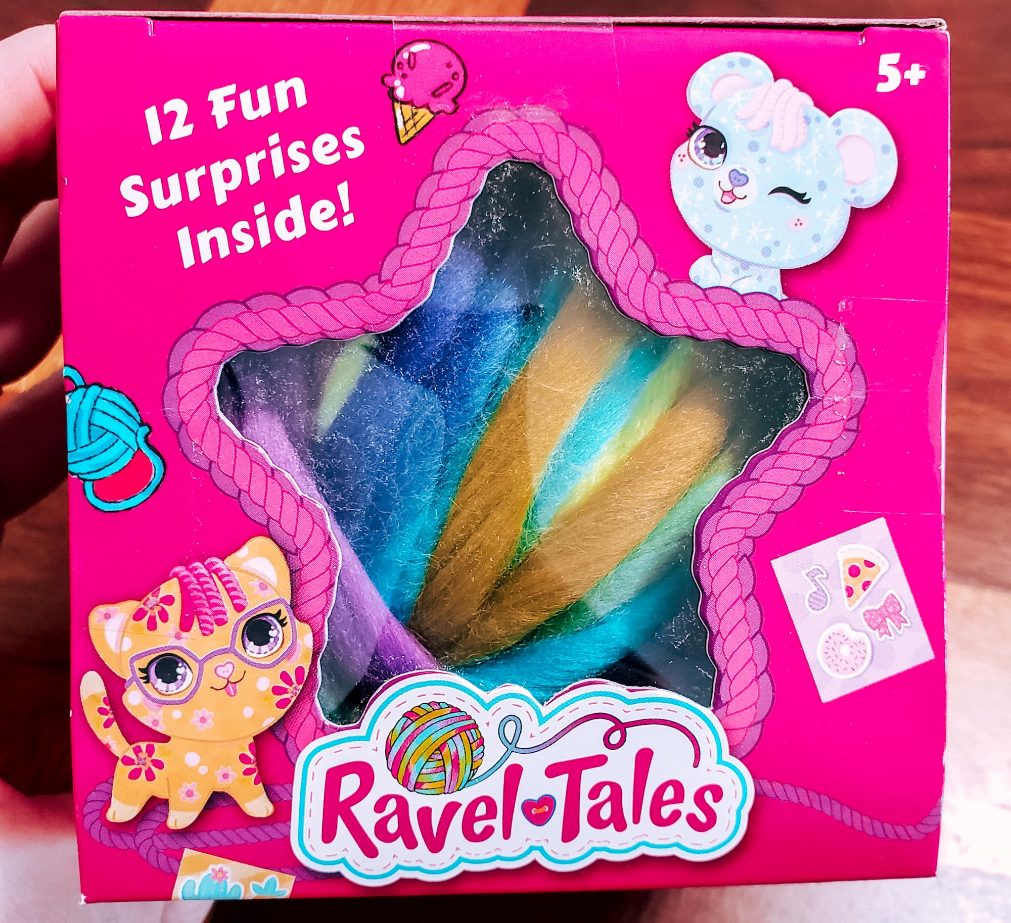 Ravel Tales: A Surprise Toy with Less Waste!