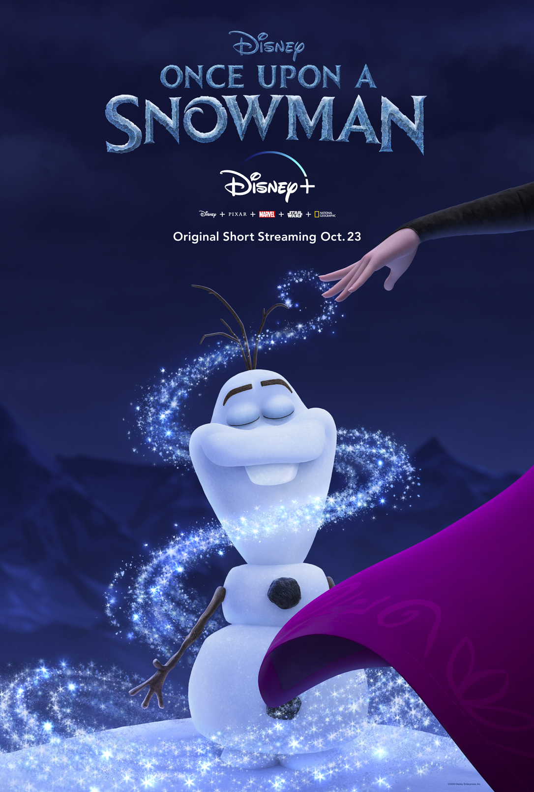 Once Upon a Snowman – Coming to Disney+
