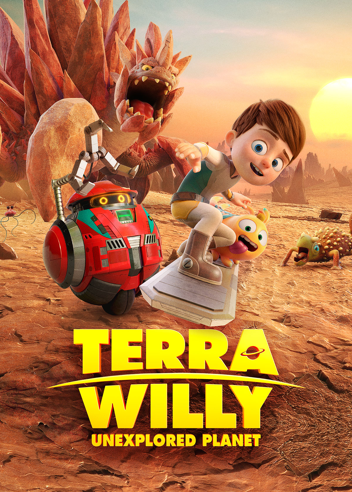 Terra Willy Movie Review & Activity Sheets