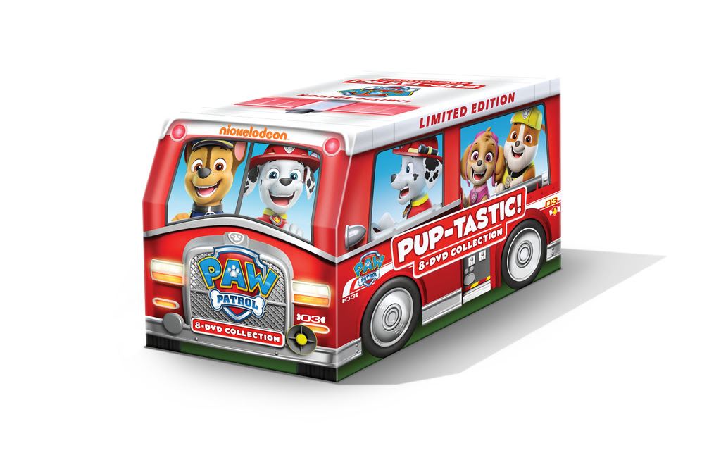 New PAW Patrol: PUP-tastic! 8-DVD Collection