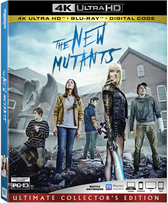 The New Mutants Now on 4K, Blu-ray, and Digital