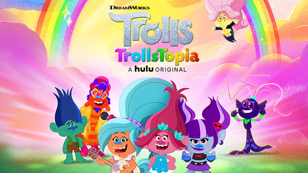 TrollsTopia Out Now on Hulu