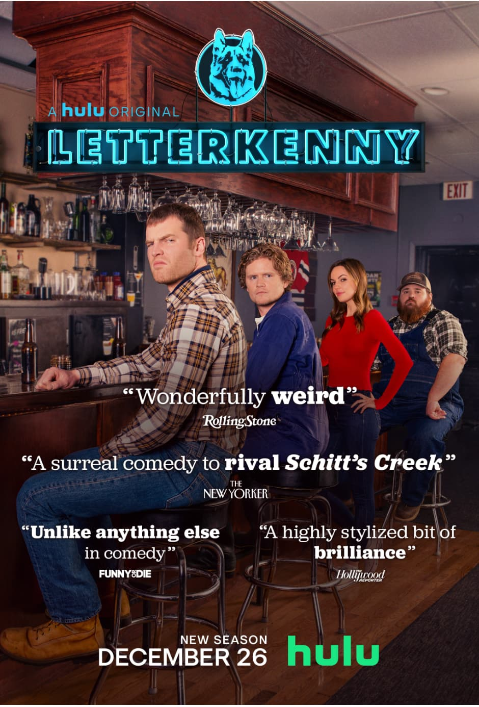 Letterkenny Season 9 Review: on Hulu Now!