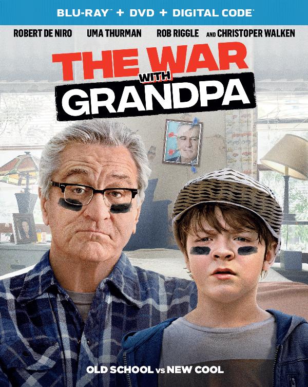 The War with Grandpa on Blu-ray & DVD 12/22/2020