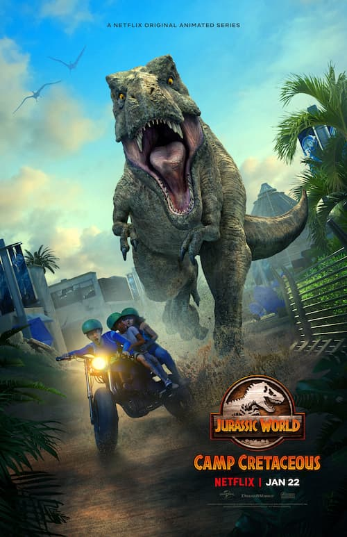 Jurassic World: Camp Cretaceous S2 Review & Interview with Exe. Producer Scott Kreamer