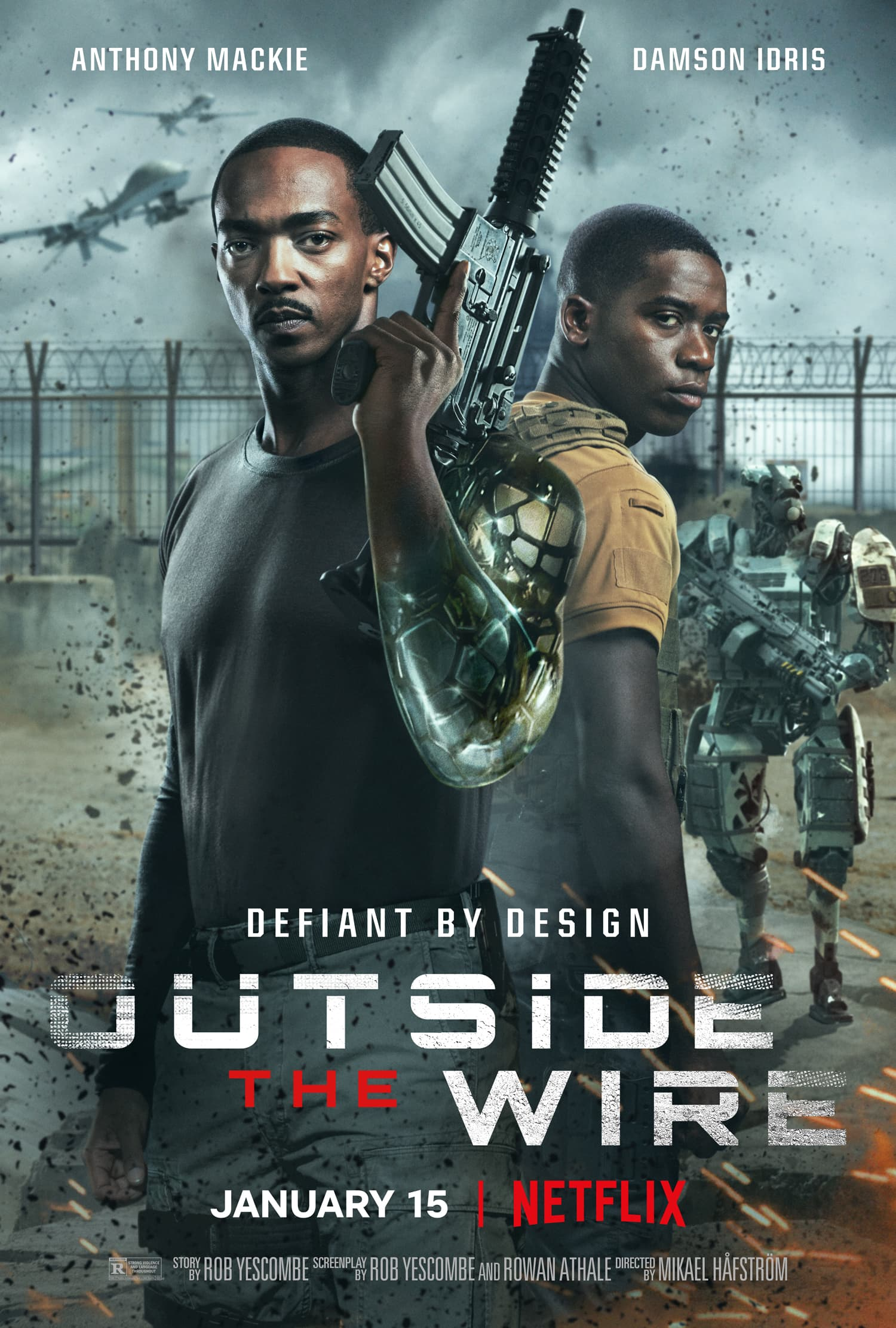 Outside the Wire Spoiler-Free Movie Review