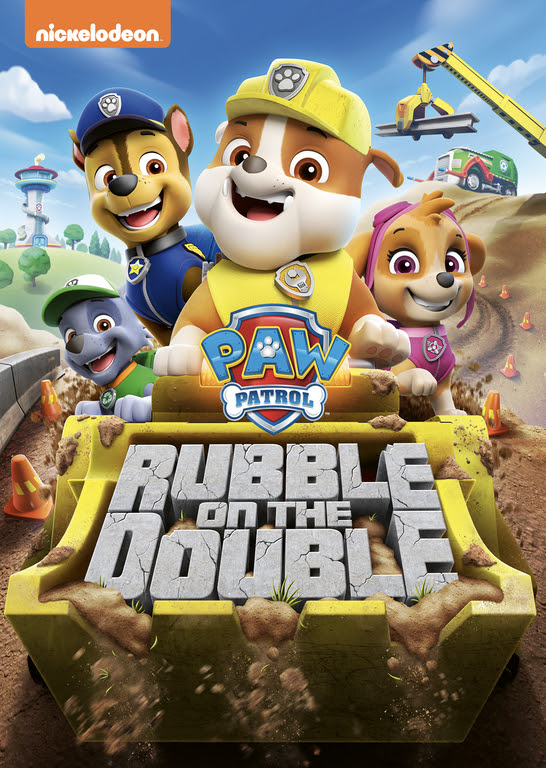 PAW Patrol: Rubble on the Double DVD