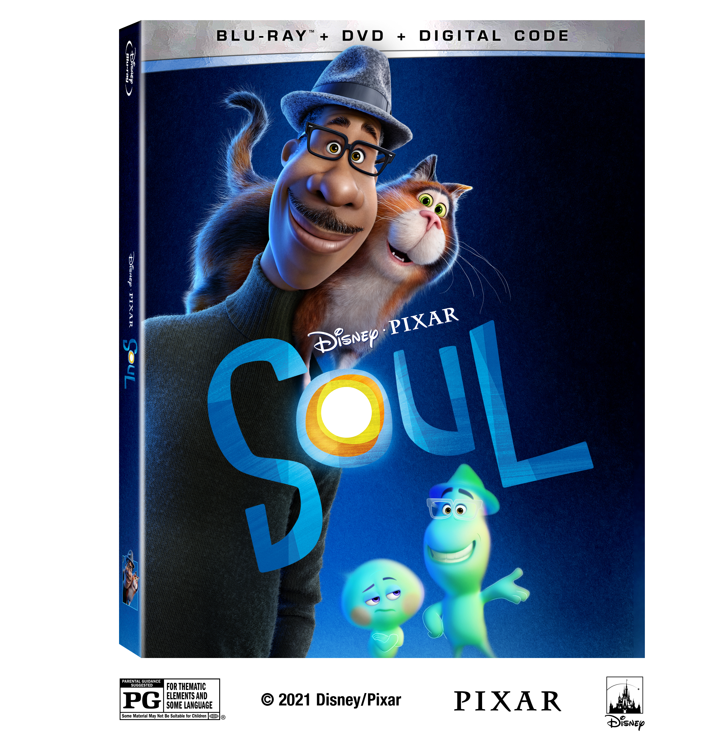 Disney and Pixar's Soul: 4K, Blu-ray, DVD & Digital Release Info