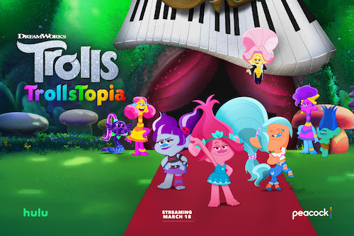 DreamWorks TrollsTopia Season 2 on Hulu & Peacock!