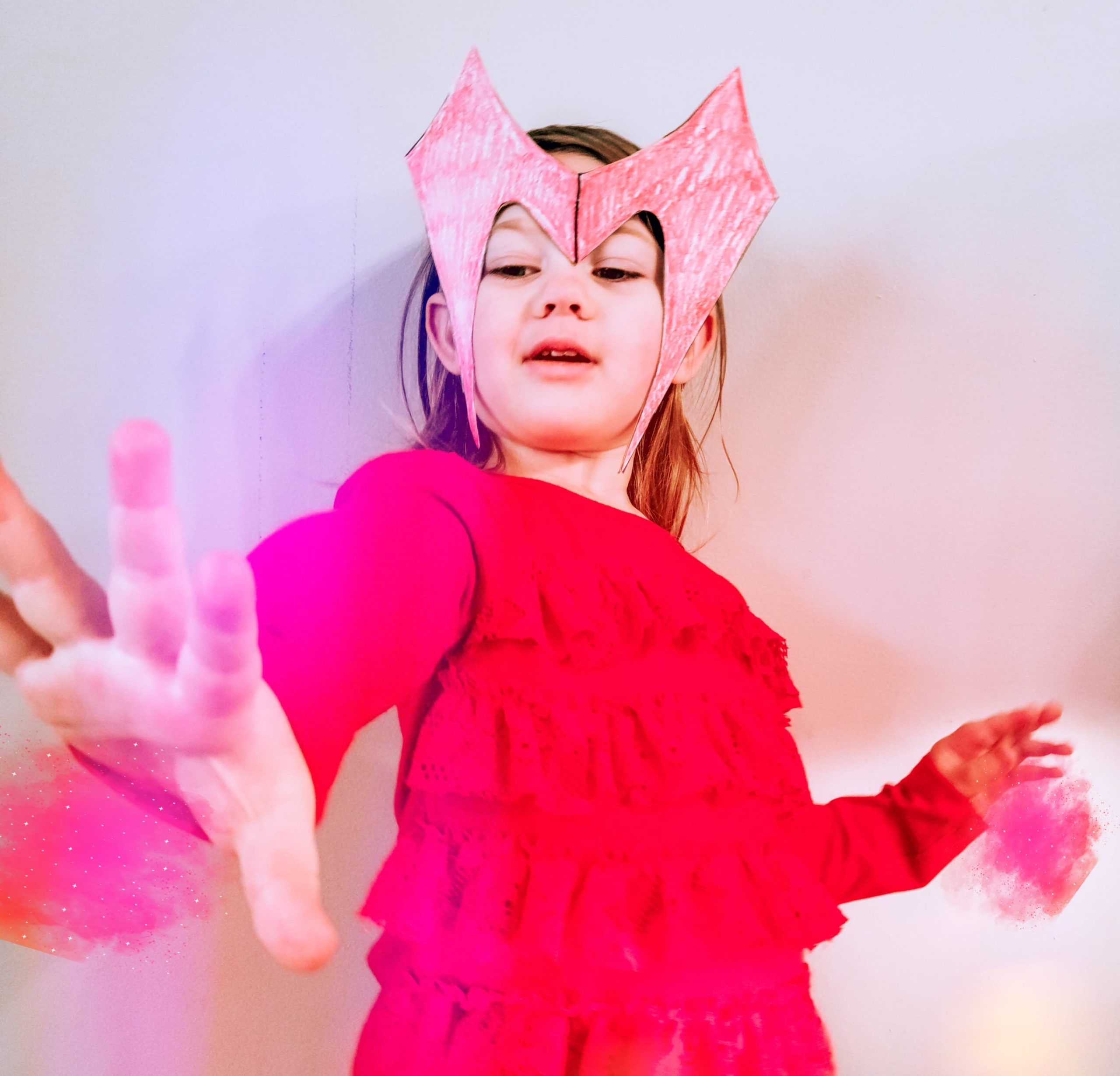 Scarlet Witch Headdress Craft DIY
