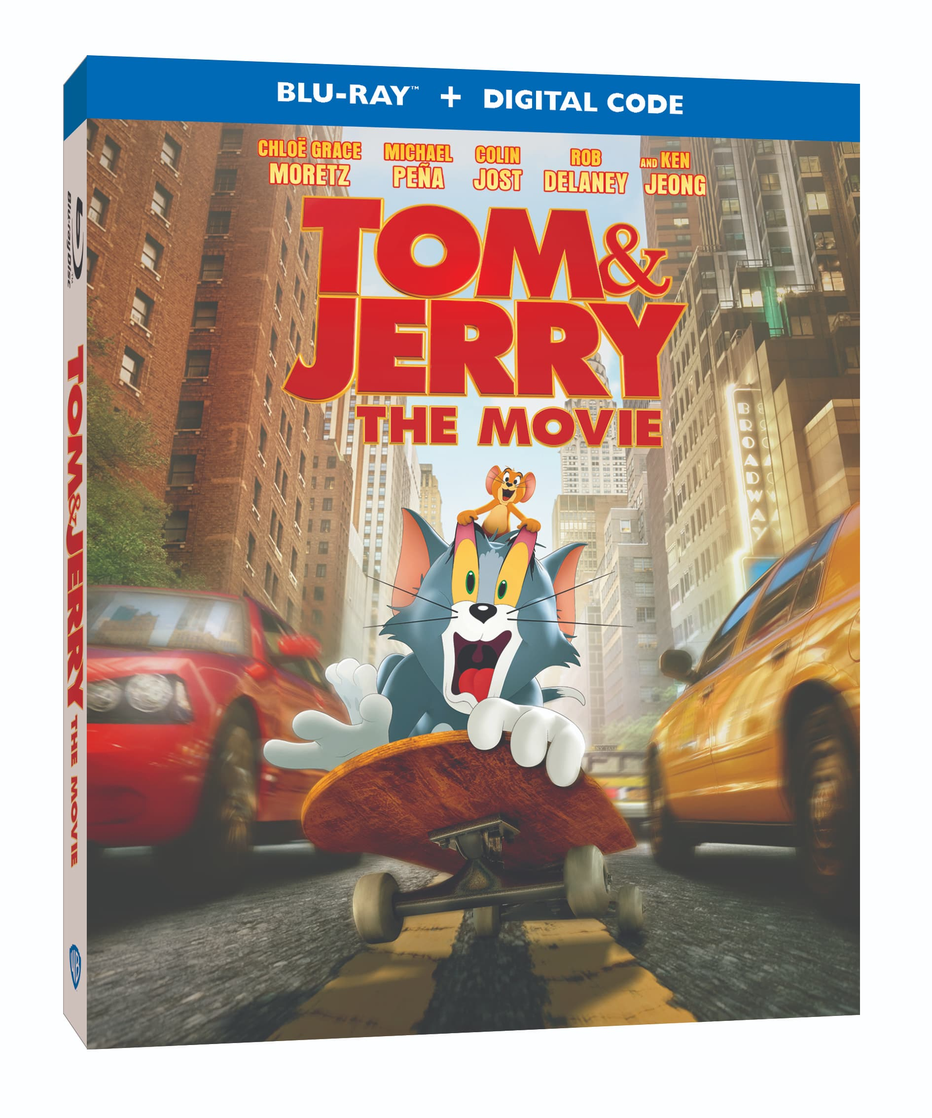Tom & Jerry Blu-ray, DVD, and Digital Release Info