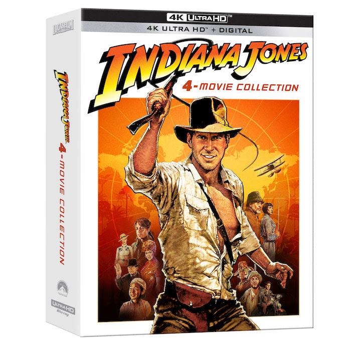 Indiana Jones 4-Movie Collection on 4K Ultra HD!