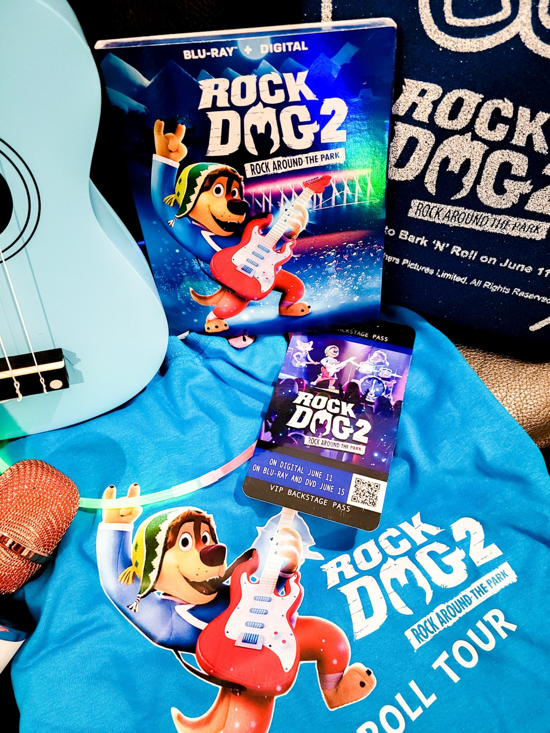 Rock Dog 2: Rock Around the Park Out Now!