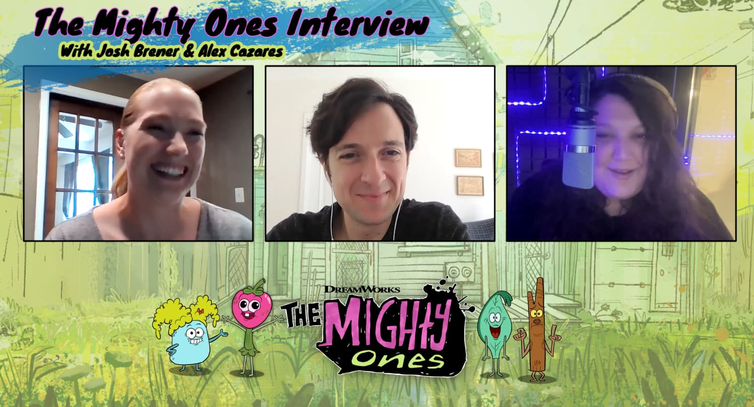 The Mighty Ones Interview with Josh Brener and Alex Cazares