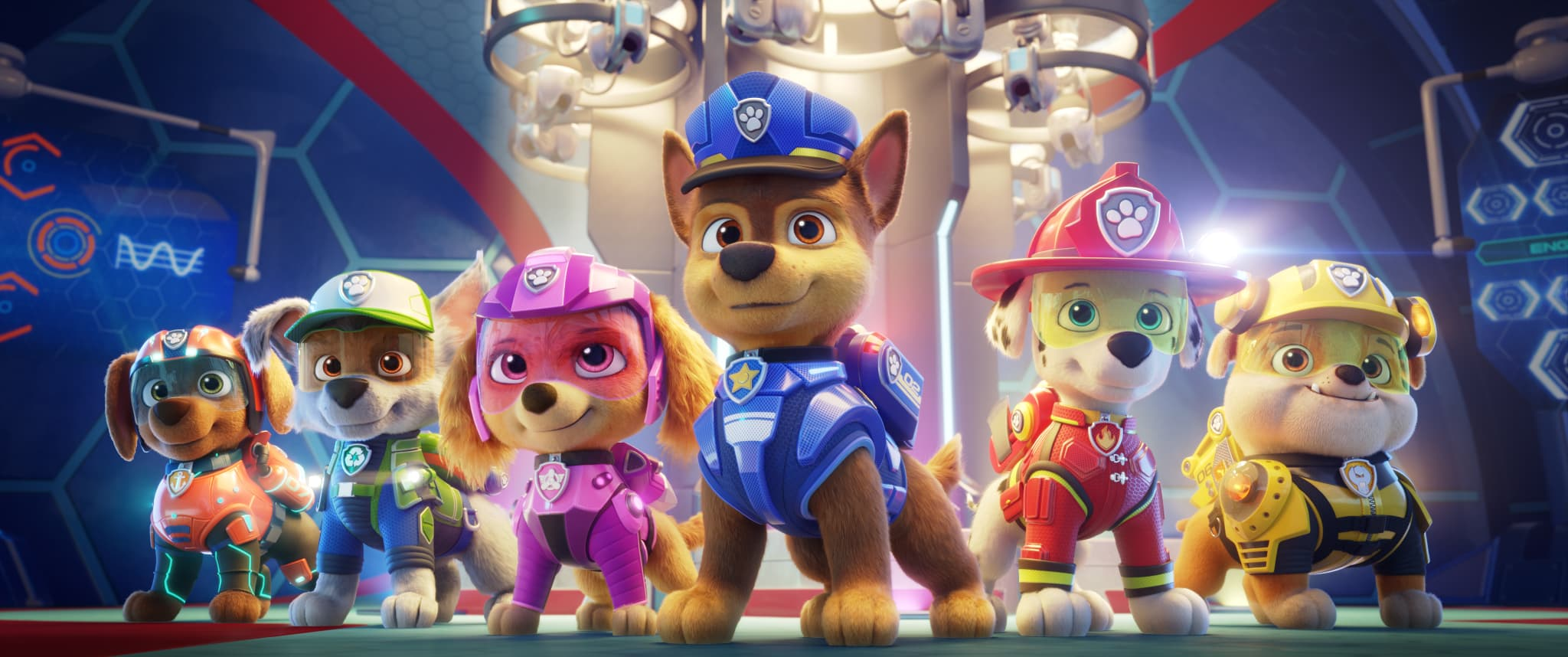 Paw Patrol: The Movie Review & Interview