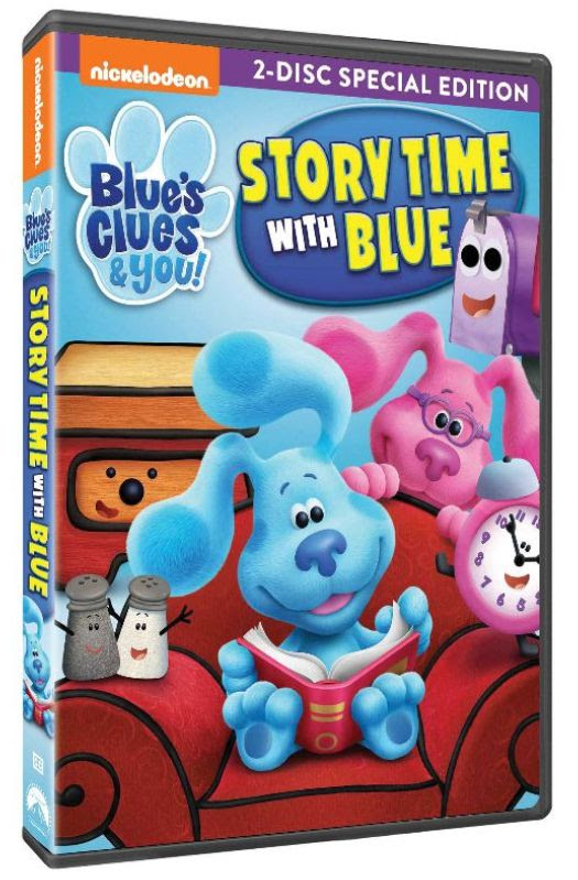 Blue's Clues & You!StoryTimewithBlue DVD Info