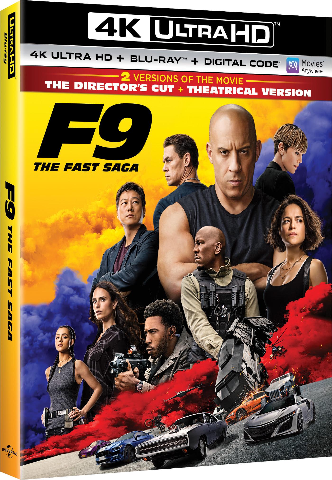 F9 Blu-ray release info