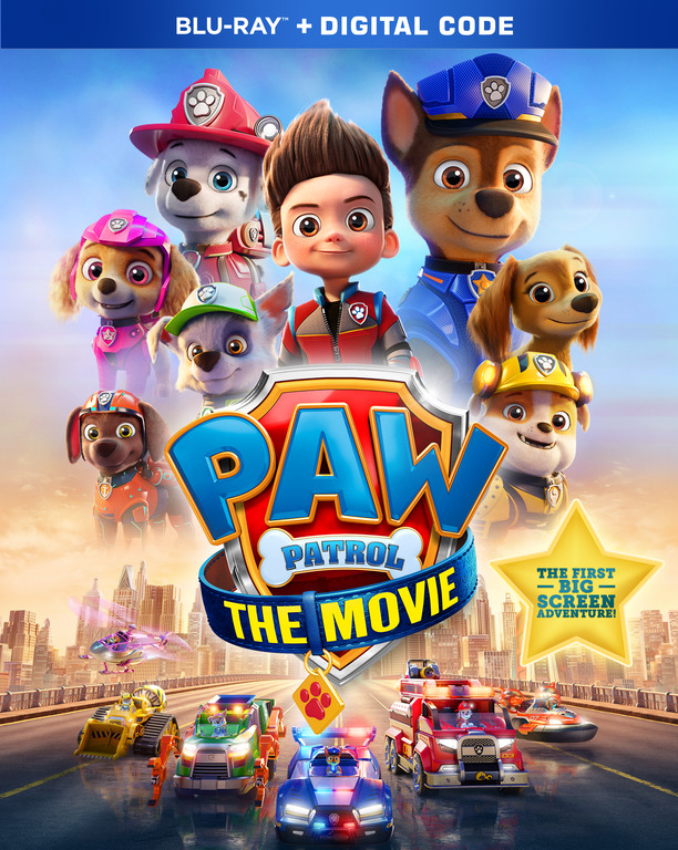 Paw Patrol The Movie Out on Digital Now