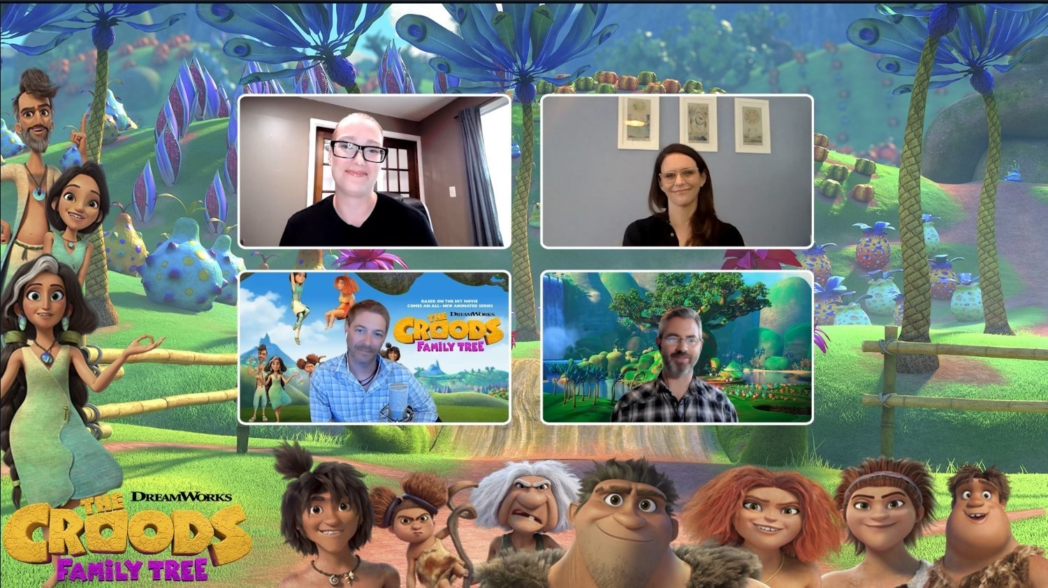 The Croods: Family Tree Review & Interview
