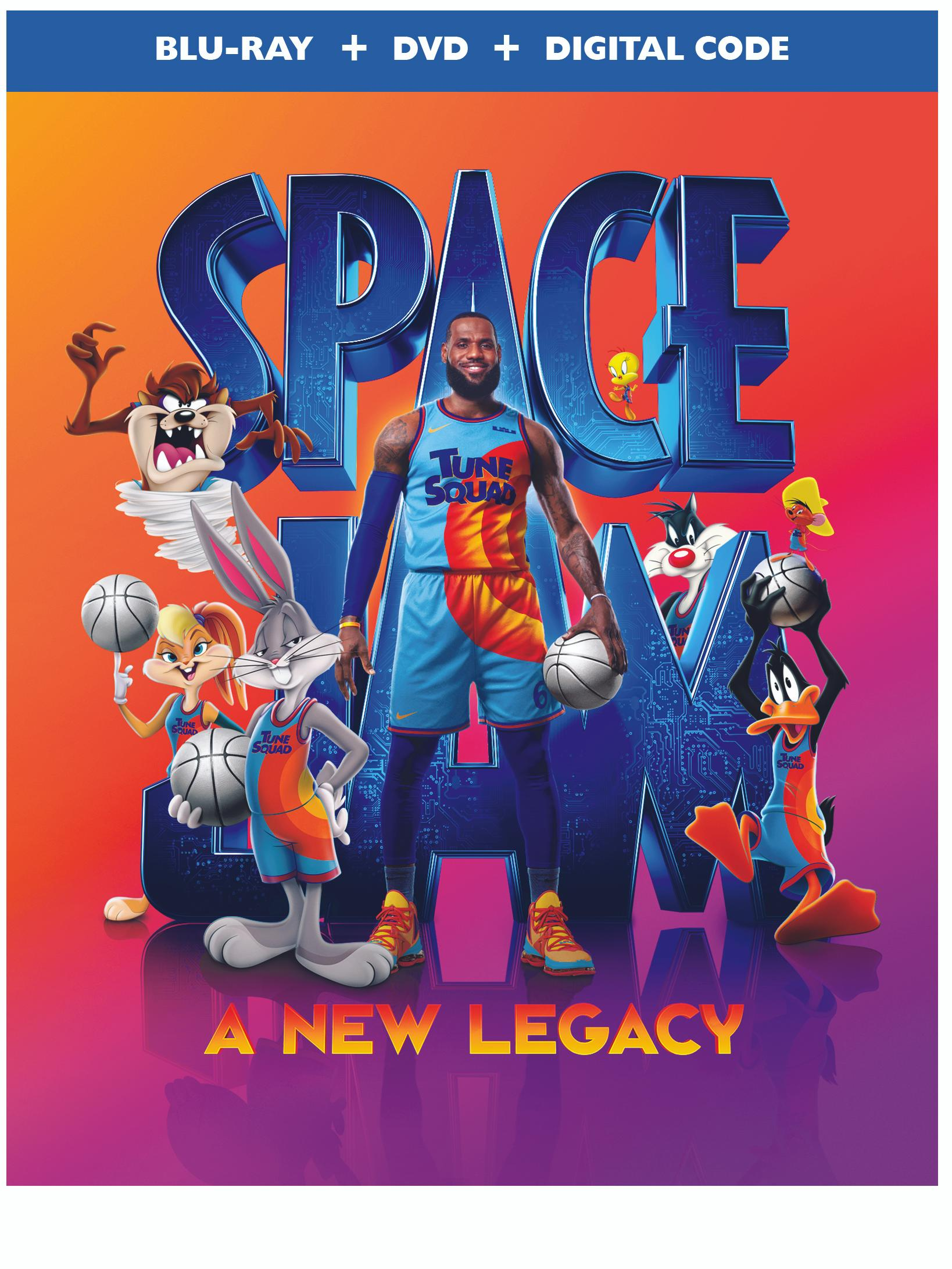 Space Jam: A New Legacy 4K, Blu-ray & DVD Release Info
